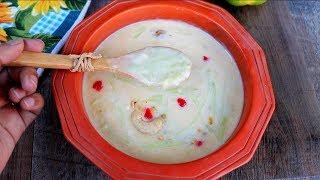 দুধ লাউ/ দুধ কদু    লাউয়ের পায়েস বা সেমাই    Bangladeshi Dudh Lau/ Dudh Kodu   Bottle Gourd Kheer