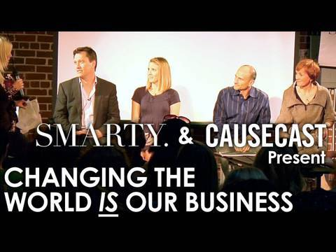 Changing The World IS My Business - Panel Discussion