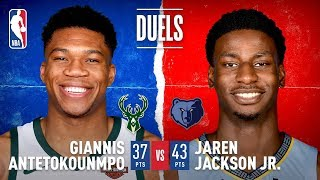 Giannis, JJJ Duel in Memphis!