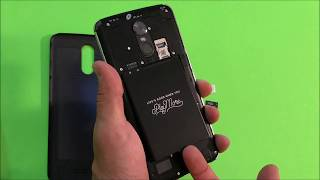 How to install SD and SIM card into LG Stylo 3