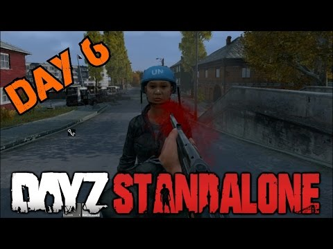 MY FIRST KILL▐ DayZ Standalone▐ The FRIENDLY Zombie Apocalypse Day #6
