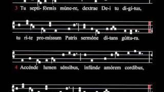 Spartito E Ascolto Inno Di Rabano Mauro Ix Sec Pentecoste Veni Creator Spiritus Schola Gregoriana Mediolanensis Giovanni Vianini Milano Italia