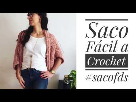 Tutorial: Saco Fácil a Crochet (#sacoFDS)