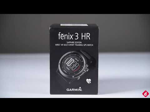 Garmin Fenix 3 HR Smartwatch - Quick Look | Digit.in
