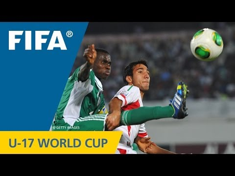 Nigeria - Iran, FIFA U-17 World Cup UAE 2013: The super-athletic Golden Eaglets had the best part of a five-goal thriller against the Middle Eastern side. Mo...