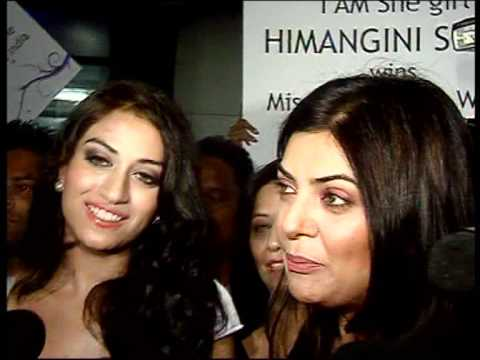 Bindaas Bollywood - Sushmita Sen Welcomes Miss Asia Pacific - Latest Bollywood News