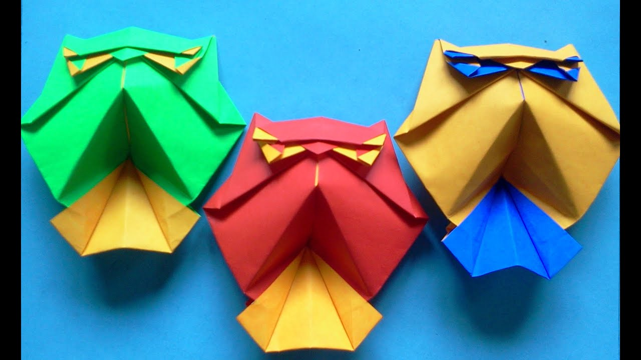 how to make origami bird owl roman diaz youtube