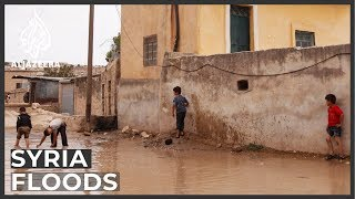 Floods, winter add to Syrian refugees' plight