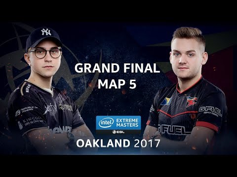 CS:GO - NiP vs. FaZe [Cache] Map 5 - GRAND FINAL - IEM Oakland 2017