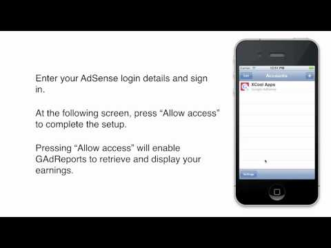 GAdReports: Premium AdSense App for iPhone and iPod touch - Demo