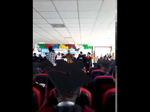 Interesting Blessing/Prayer At A University Graduation Ceremony
