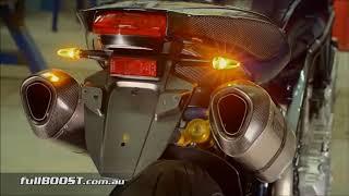 1 to 48 cylinder Exhaust sound (yamaha m-slaz, suzuki sv 650, triumph dytona 675r, kawazaki zx 10r)