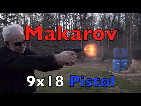Makarov 9x18 Pistol Shooting