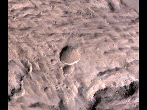 Weathercam ayuda a encontrar en Marte grandes nuevos cráteres de meteoritos