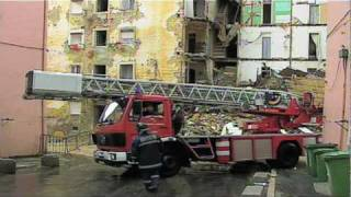 Destroyed in Seconds: Apartment Building Collapse