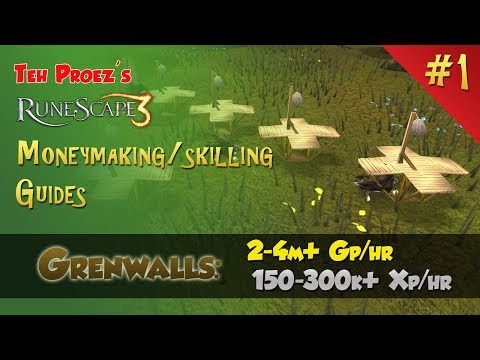 Ultimate RS3 Grenwall Hunting Guide! – Best Hunter Xp, Epic Cash! – TP's RS3 MM/Skilling Guides!