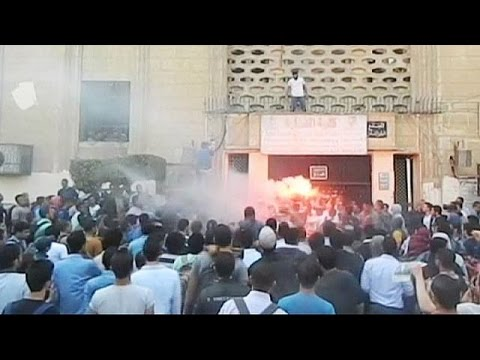 Protest in Egypt : Students clash with security - no comment