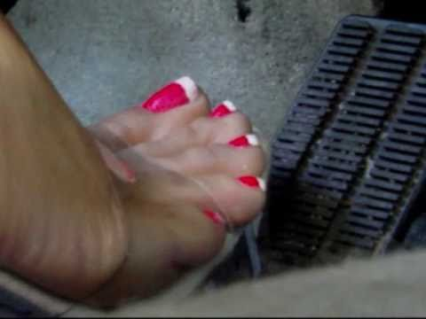Beautiful East Coast Girls putting the Pedal to the Metal, The Exquisite Miss Poizon.wmv