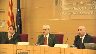 Inauguració de la jornada: La participació social en l'execució penal. Reptes i oportunitats