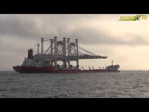 HCSO Marine Crane Escort