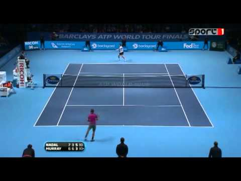 Nadal vs Murray ATP World Tour Finals SF