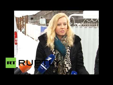 Russia: Paralympian Jessica Long meets birth mother for first time