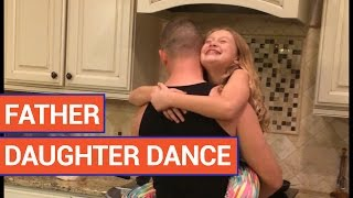 Dad Dances with Daughter | Poke My Heart