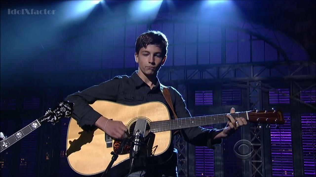 9 Year Old Plays Banjo On David Letterman Show Sleepy