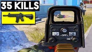 WHY M4 IS THE BEST WEAPON!   35 KILLS Duo vs SQUAD   PUBG Mobile