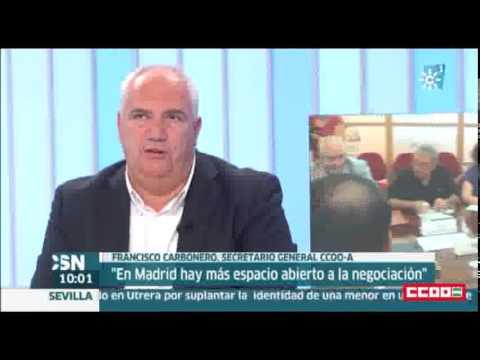 Francisco Carbonero en 'Buenos Días' de Canal sur TV