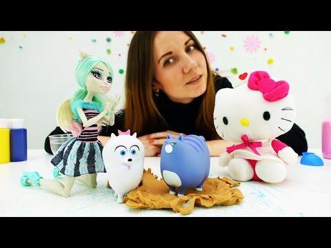 Куклы Монстер Хай и Хелло Кити в Академии волшебства