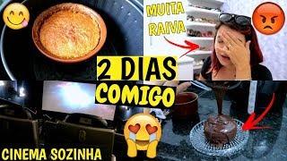 FIZ BOLO DE MILHO E CHOCOLATE NA AIR FRYER, CINEMA SOZINHA E MUITO MAIS  ♥ - Bruna Paula