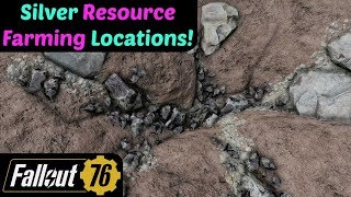 Fallout 76: Silver Resource Farming Locations!