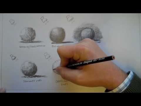 Graphite or Pencil Drawing Techniques