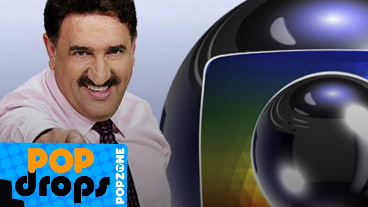 Ratinho aparece na Globo