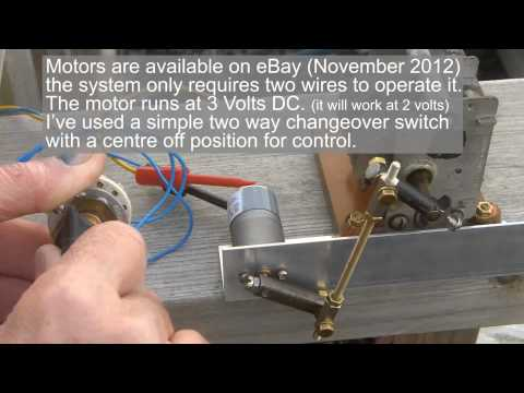 About Radio 62 Simple Antenna tuning unit drive mechanism from Andy    GWØJXM