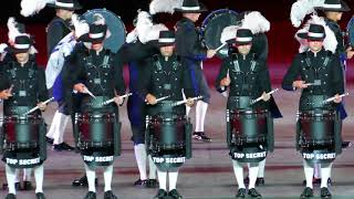 Basel Tattoo 2018 Top Secret Drum Corps P1760314