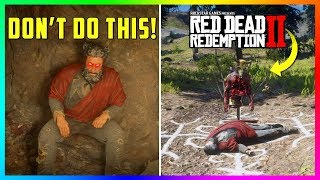 If You Bring The Cave Devil To This Location Something SPOOKY Will Happen In Red Dead Redemption 2!