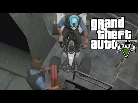 GTA 5 Funny Online Moments (ATV Dance Move Glitch, Gasoline Fun, Robbery Fail)