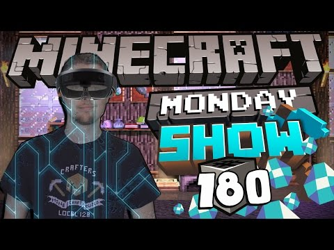 Minecraft Goes 3D & More! - Minecraft Monday Show #180