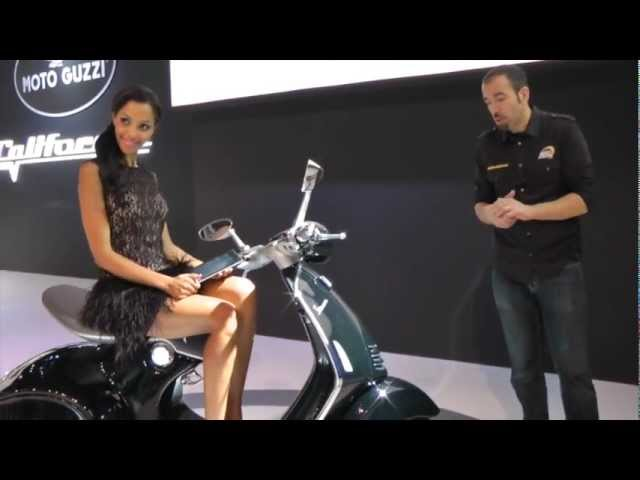 Vid�o En direct de Milan EICMA 2012 : Vespa 946, le must have du scooter !