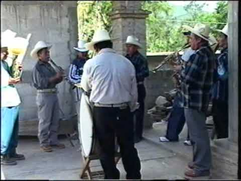 San Agustin Atenango Oaxaca Musica de viento en la cofradia #1
