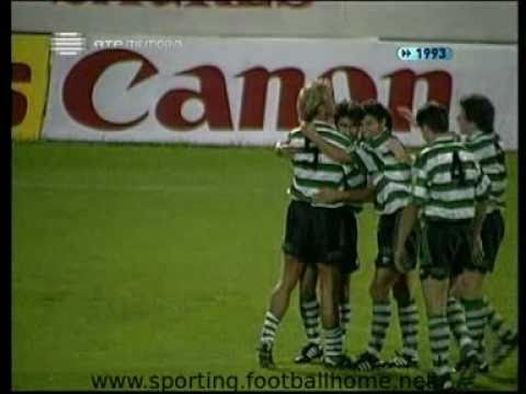 V. Set�bal - 2 Sporting - 3 de 1993/1994