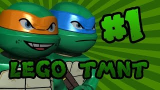 LEGO Teenage Mutant Ninja Turtles (TMNT): Episode 1 | TwinToo Bricks