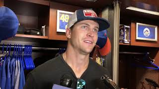 Alonso, deGrom on the Mets Win