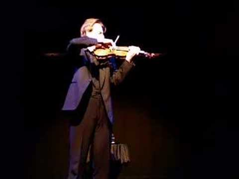 The Violin Player - by Thomas Hewitt Jones Video
