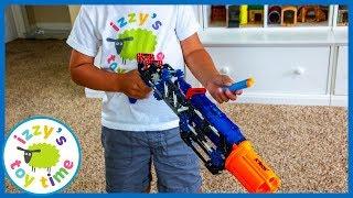 K'NEX NERF BLASTERS PRETEND PLAY! Fun Toys for Kids