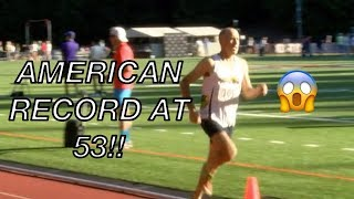 53-Year-Old SHATTERS American Record At Stumptown Twilight!😱
