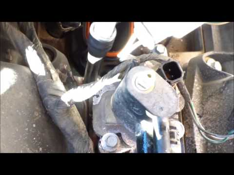 How to replace coolant outlet housing 2005 Chrysler Sebring