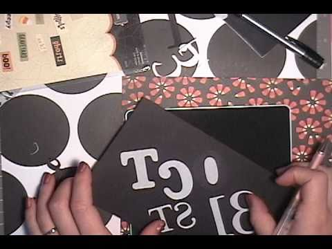 How to make your own elaborate die cut - Oct 31st -(Part 2 of 4)